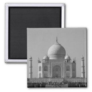 b&w del Taj Mahal Imán Cuadrado