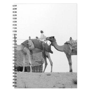 B&W Dubai desert Notebook