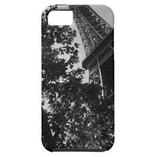 B&W Eiffel Tower 2 iPhone 5 Cases
