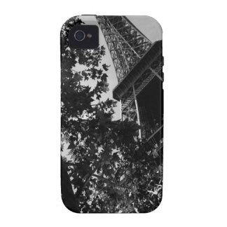B&W Eiffel Tower 2 Case-Mate iPhone 4 Cases