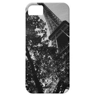 B&W Eiffel Tower 2 iPhone 5 Cover