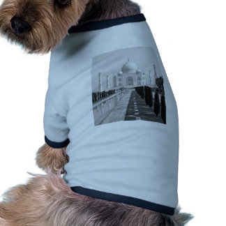 B&W el Taj Mahal 3 Camiseta Con Mangas Para Perro