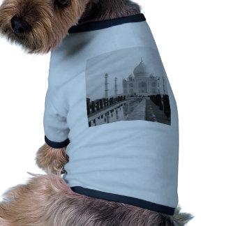 B&W el Taj Mahal 4 Camiseta Con Mangas Para Perro