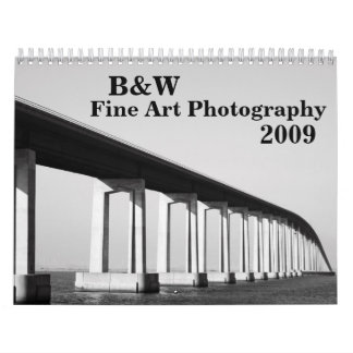 B&W Fine Art Photography Calendar