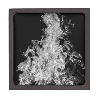 B&W Flame Premium Keepsake Box