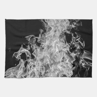 B&W Flame Towel