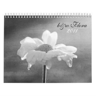 b&w flora 2011 calendar