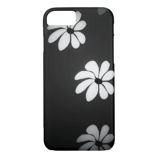 B&W Flowers Case-Mate iPhone Case