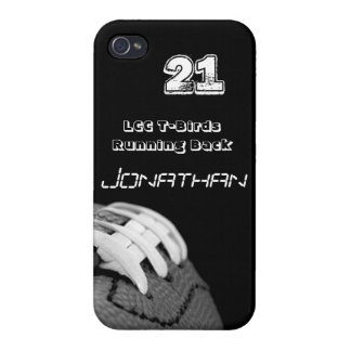 B&W FOOTBALL IPHONE CASE