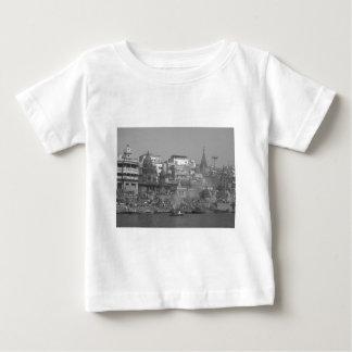 B&W Ganges River Baby T-Shirt