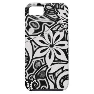 B/W Garden Abstract iPhone 5 Case