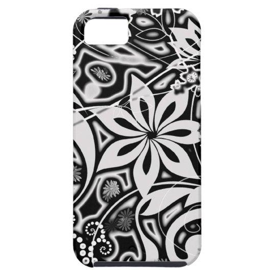 B/W Garden Abstract iPhone SE/5/5s Case