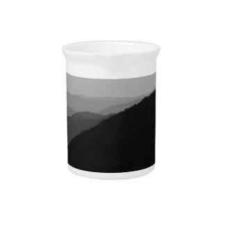 B&W Great Smoky Mountains Drink Pitcher