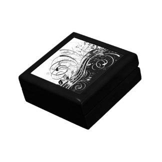 B&W grunge Jewelry Box