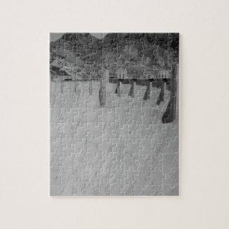 B&W Hoover Dam 2 Jigsaw Puzzle