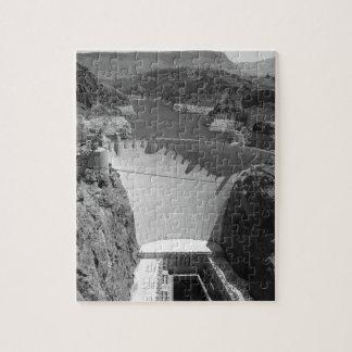 B&W Hoover Dam 3 Jigsaw Puzzle