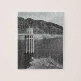 B&W Hoover Dam 4 Jigsaw Puzzle
