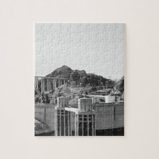 B&W Hoover Dam 5 Jigsaw Puzzle