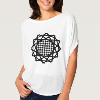 B&W Houndstooth T-shirt