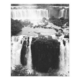 B&W Iguazu Falls Flyer