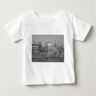 B&W India Ganges River Baby T-Shirt