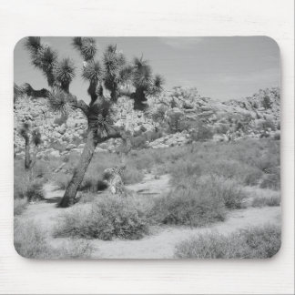 B&W Joshua Tree National Park 3 Mouse Pad