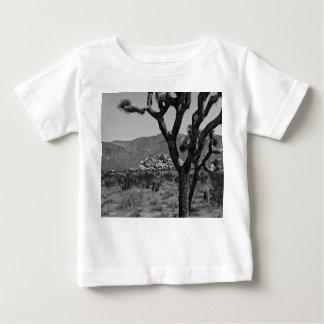B&W Joshua Tree National Park 6 Baby T-Shirt