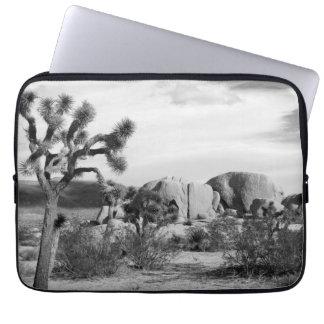 B&W Joshua Tree National Park Laptop Sleeve