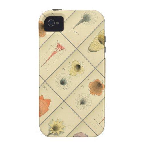B.W. La psicología geométrica de Betts Vibe iPhone 4 Carcasa