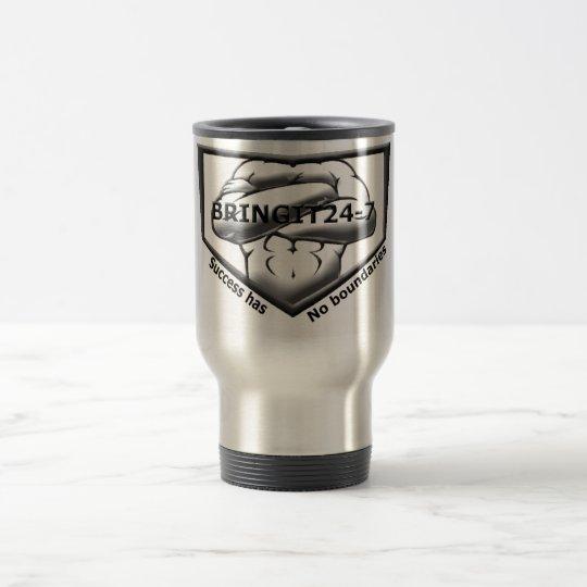 B&W Logo Silver Mug