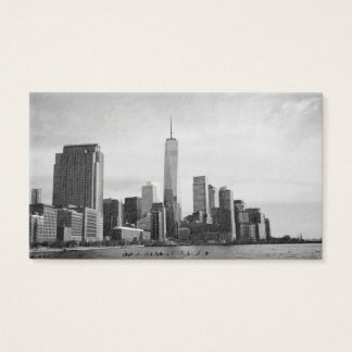 B&W Manhattan Business Card