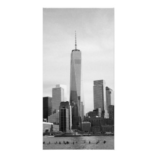 B&W Manhattan Card