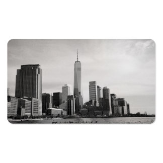 B&W Manhattan Double-Sided Standard Business Cards (Pack Of 100)