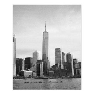 B&W Manhattan Flyer