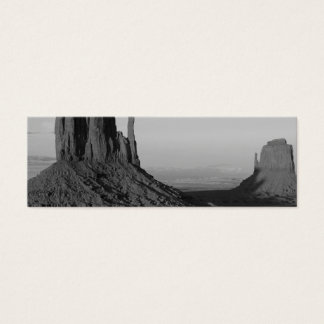 B&W Monument Valley 2 Mini Business Card