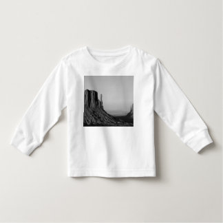 B&W Monument Valley 2 T-shirt