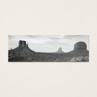 B&W Monument Valley 4 Mini Business Card