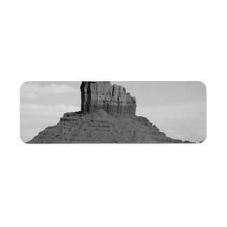 B&W Monument Valley 5 Label