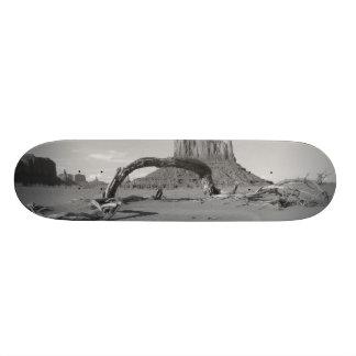 B&W Monument Valley in Arizona/Utah 2 Skateboard Deck