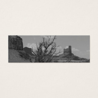 B&W Monument Valley in Arizona/Utah 3 Mini Business Card
