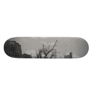 B&W Monument Valley in Arizona/Utah 3 Skateboard Deck