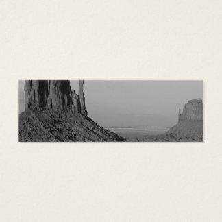 B&W Monument Valley in Arizona/Utah 5 Mini Business Card