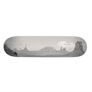 B&W Monument Valley Skateboard