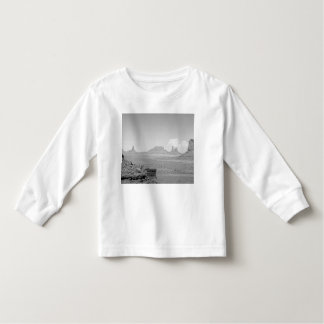 B&W Monument Valley Toddler T-shirt