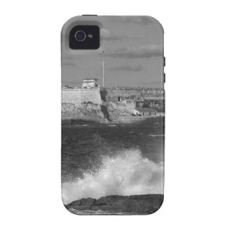 B&W Morro Castle Vibe iPhone 4 Covers