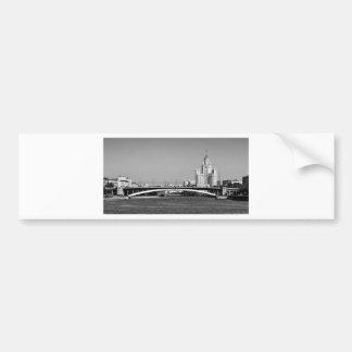 B&W Moscow Bumper Sticker