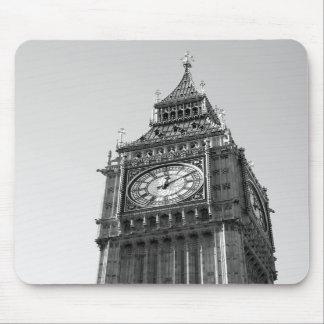 B W Mousepad de Big Ben Londres Alfombrilla De Ratón