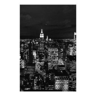 B&W New York City Stationery