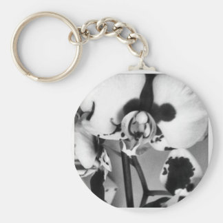 B W Orchid Collection Keychain