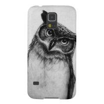 B&W Owl Galaxy S5 Case